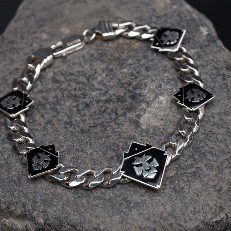 Braccialein argento 925