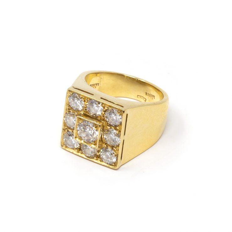 anello diamanti colore bianco extra puro
