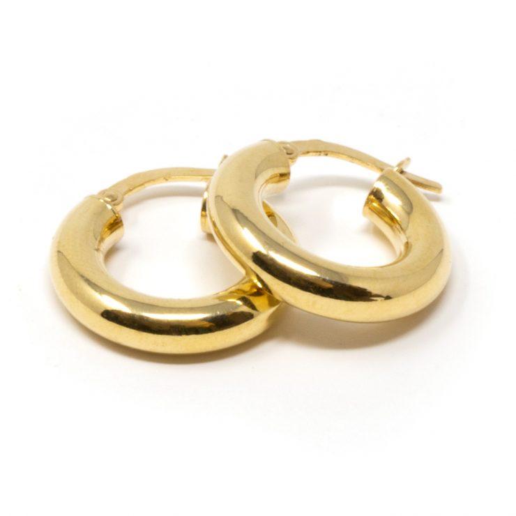 risivi lab orecchini cerchio oro giallo 18 kt roma