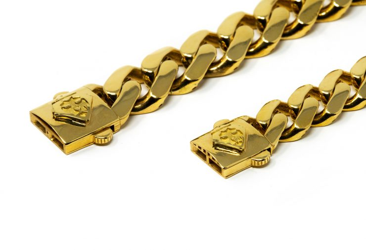 bracciali cuban oro giallo