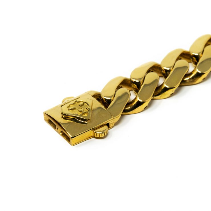 bracciali cuban oro giallo 18 kt