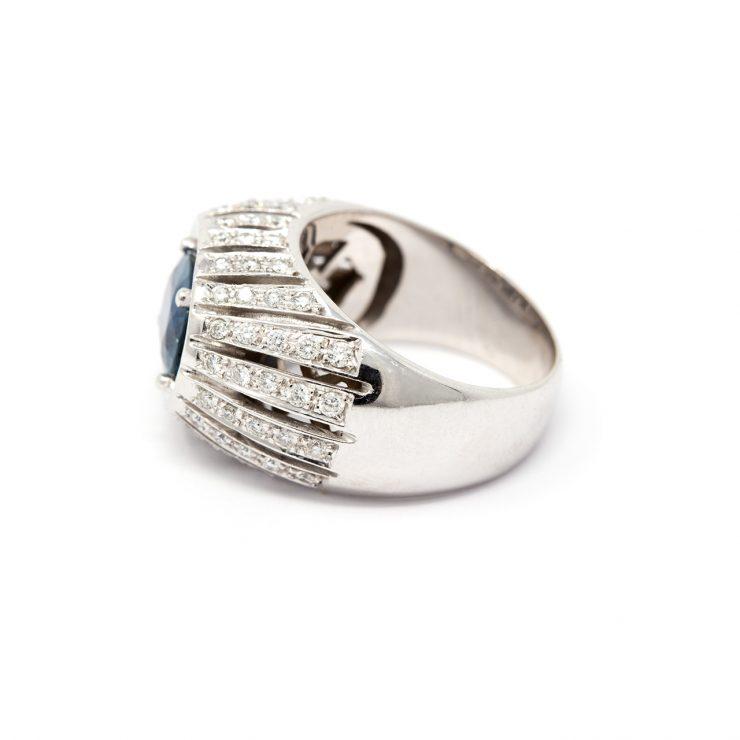 anello fascia zaffiro risivi lab