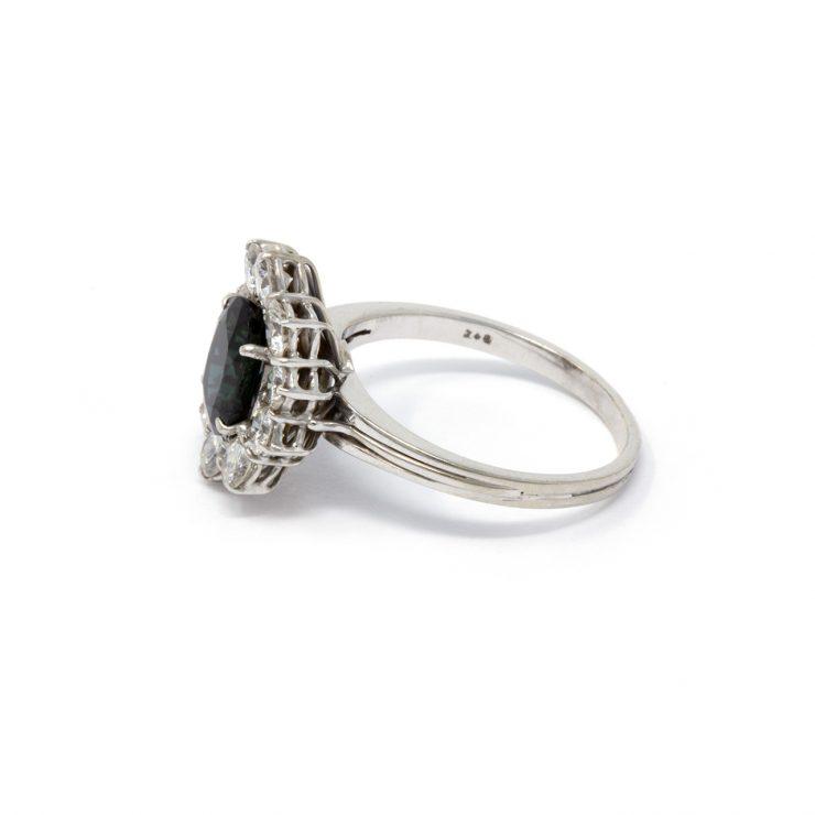 anello margherita zaffiro risivi lab