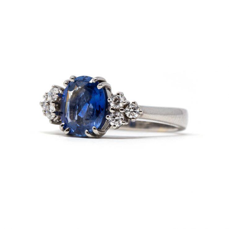 anello zaffiro ceylon roma