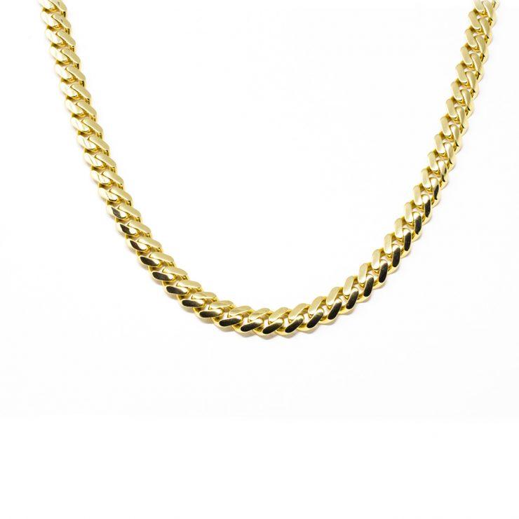 collana cuban oro giallo 18 kt risivi lab