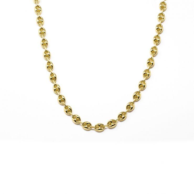 collana marinara oro giallo 18 kt gucci link risivi lab