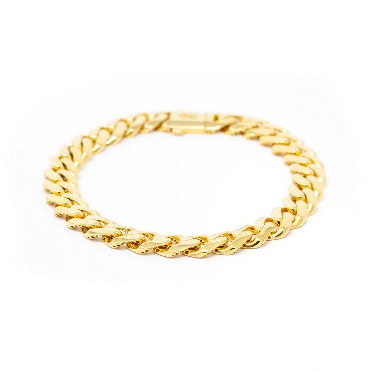 bracciali cuban oro giallo 18 kt roma