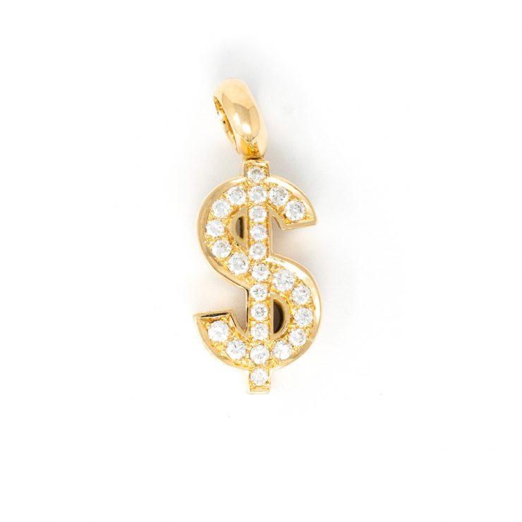 Ciondolo emoji dollaro
